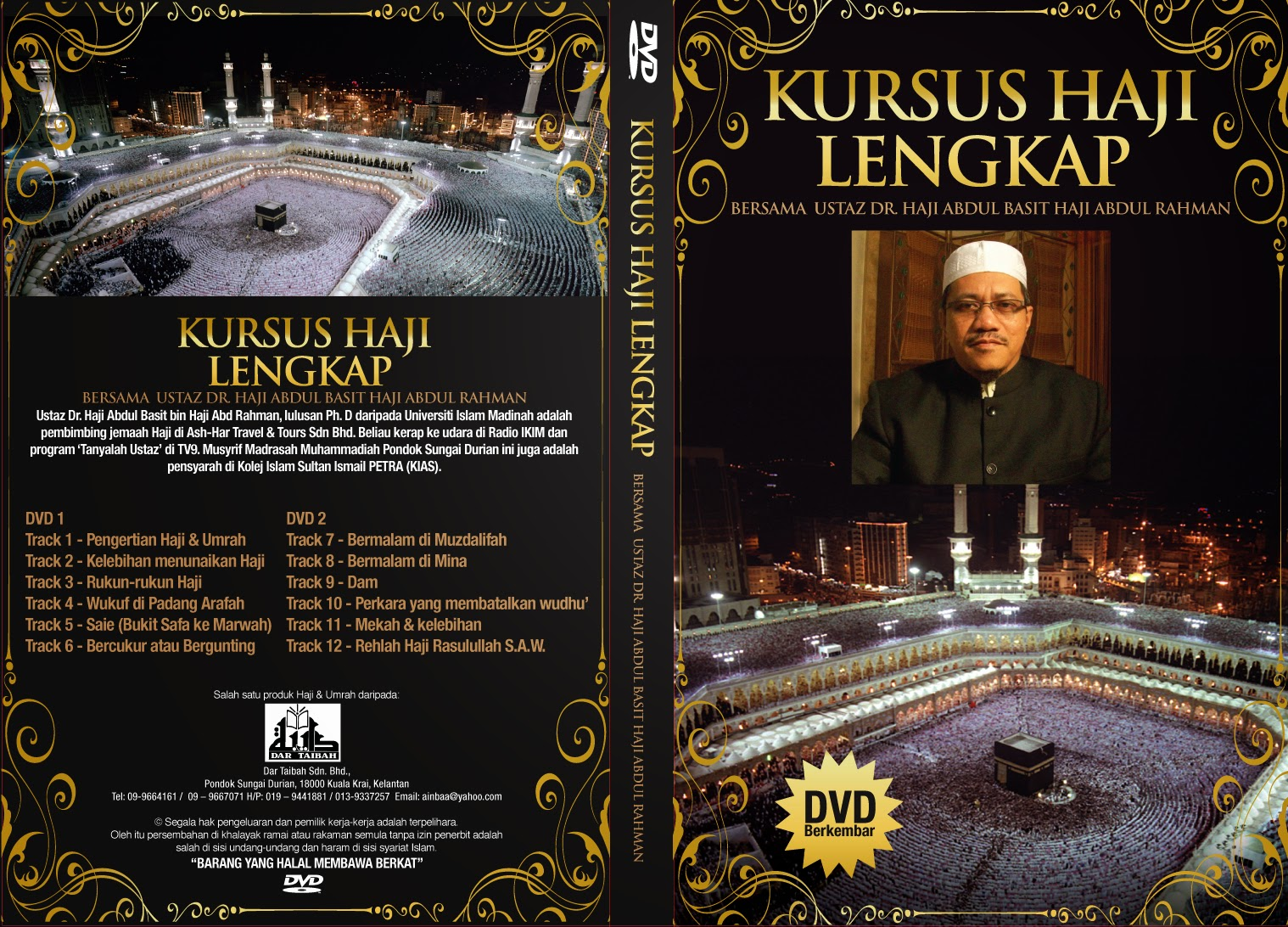 DVD cover -Haji 201010